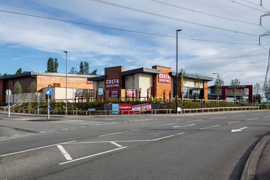 Stainforth Completes 39m Retail Park For Aldi Costa